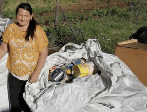 Vilma Riquelme La primera gestora de reciclaje en Villa Mininco
