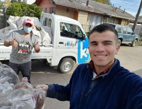 Más de mil hogares y 4 mil personas están reciclando  en Collipulli, Laja, Los Ángeles, Mulchén y Nacimiento